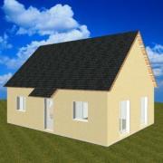 Pavillon type eco construction en maconnerie