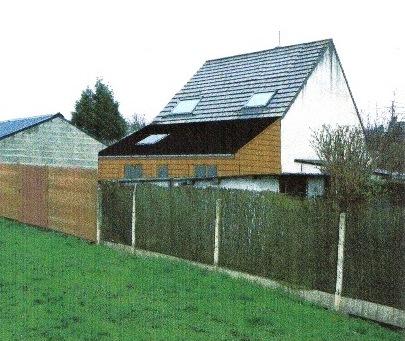 Plan agrandissement d 39 un pavillon r alis en ossature bois for Agrandissement pavillon