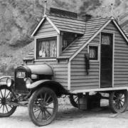 Photo d une des premiere tiny house