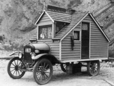 Photo d une des premières Tiny House