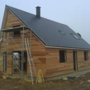 Photo maison ossature bois evreux