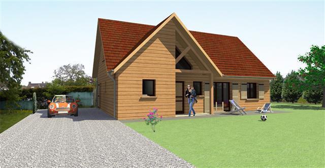 Plan Maison Ossature Bois Modele Val D Oise