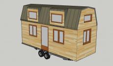 Plan 3D avant projet tiny house
