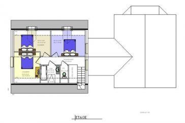 Plan etage maison virginia