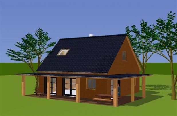 Plan habitation 3d nina