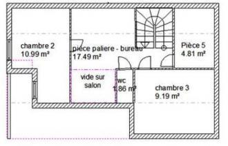 Plan habitation agatha etage