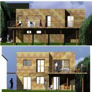 Plans de maisons en bois