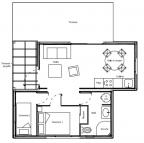 Plan hll cottage 37m