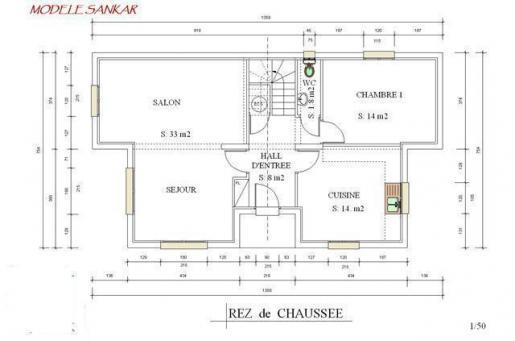 Plan interieur de maison sankar