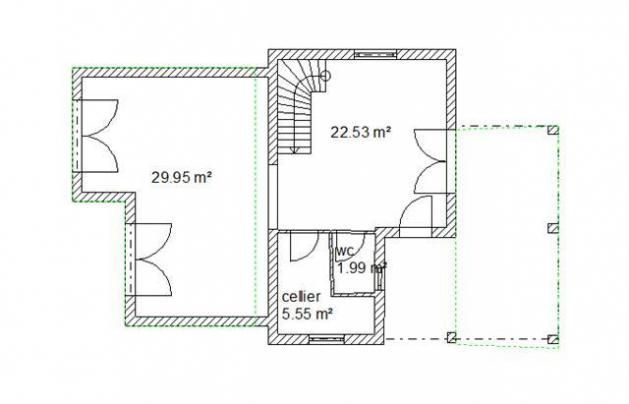 Plan interieur plan espagnia rdc