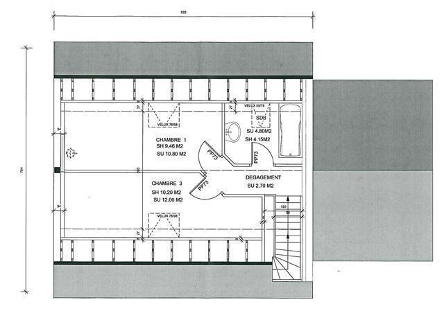 Plan de maison jumell e mod le gratuit jumella for Model de plan de maison