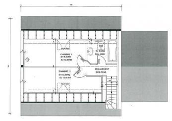 Plan maison etage modele jumella