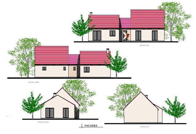 Mod le dreux plan de maison gratuit for Modele maison gratuit