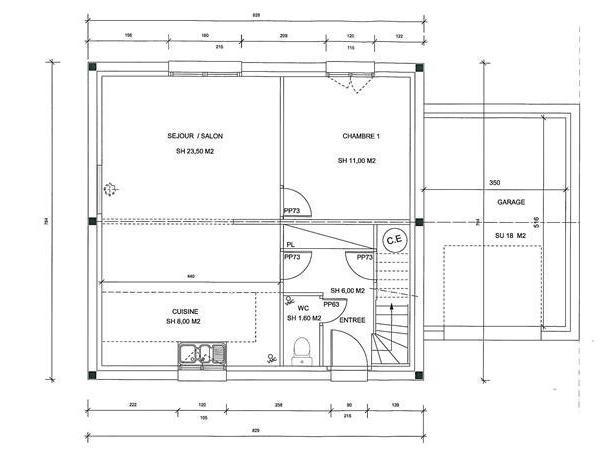 Plan Maison Rdc Jumella