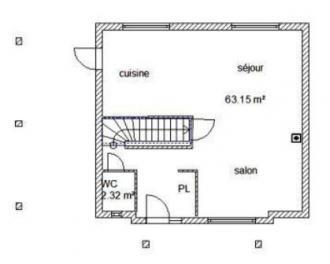 Plan rdc habitation tatiana