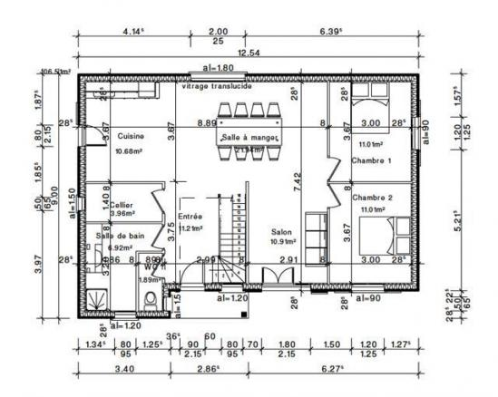 Plan rdc habitation val d oise