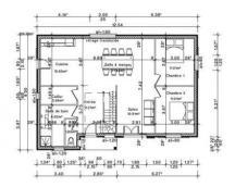 Plan rdc habitation