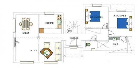 Plan rdc maison rouen