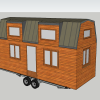 Plan tiny house modele lola