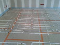 Plancher chauffant maison ossature bois 1