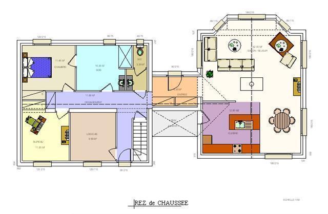 Mod le viriginia plan de maison gratuit - Plan agrandissement maison gratuit ...