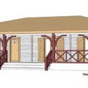 Plans de maison en bois
