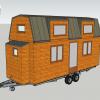 Plans et vues en 3d de tiny house