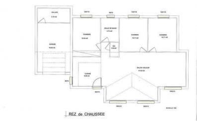 Plans rdc modele maison haute normandie