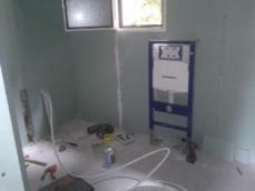 Plomberie dans maison en bois 1