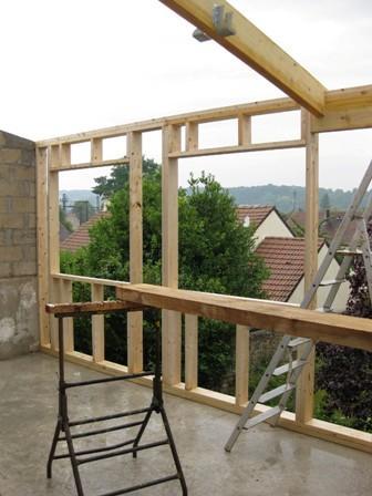 Agrandissement de maison maison eco malin for Agrandissement maison ossature bois