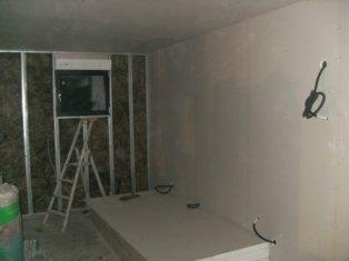 Travaux d 39 am nagement int rieur maison bardage de couleur for Isolation mur interieur placo