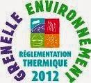 Rt2012 reglementation thermique