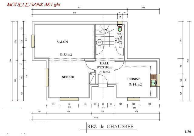 Plan Maison Ossature Mtallique Moderne Modle Sanka Lingth