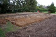 Terrassement des fondations maison individuelle