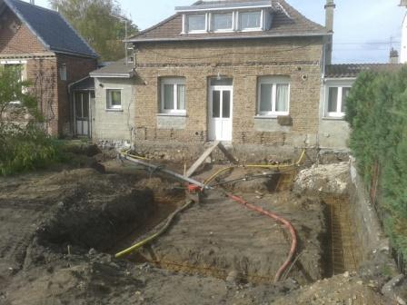 Terrassement Vide Sanitaire Pour Agrandissement Maison à Rouen Extension ...