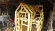 Tiny house murs en ossature bois et charpente