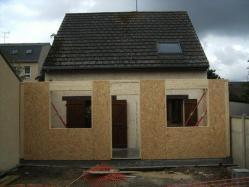 Travaux de construction agrandissement en bois