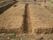Travaux de terrassement pour construction maison bois en normandie