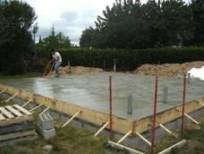 Vide sanitaire coulage beton