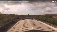 Video aerienne de presentation entreprise de construction de maisons en ossature bois