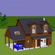 Vue 3d habitation tatiana