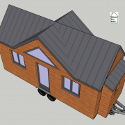 Vue 3d plan tiny house modele lili