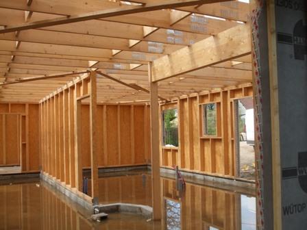 ossature bois interieur