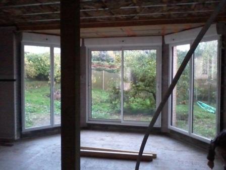 Travaux am nagement int rieur isolation maison ossature bois - Huis exterieur model ...